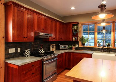 custom kitchen woodworking in Ithaca