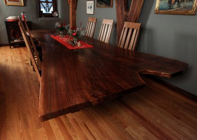 Twelve Foot Walnut Table
