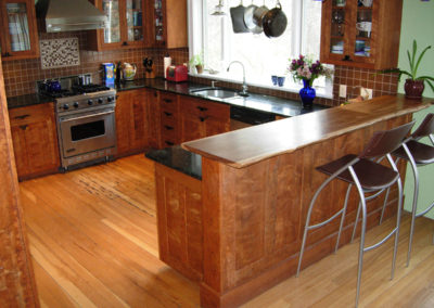 custom kitchen cabinets in Tompkins County