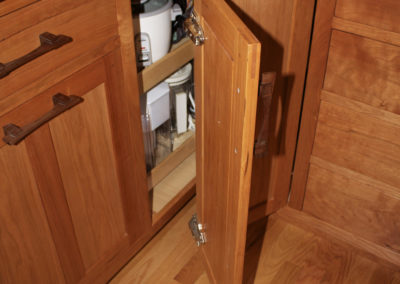 Lazy Susan With Hinged Door